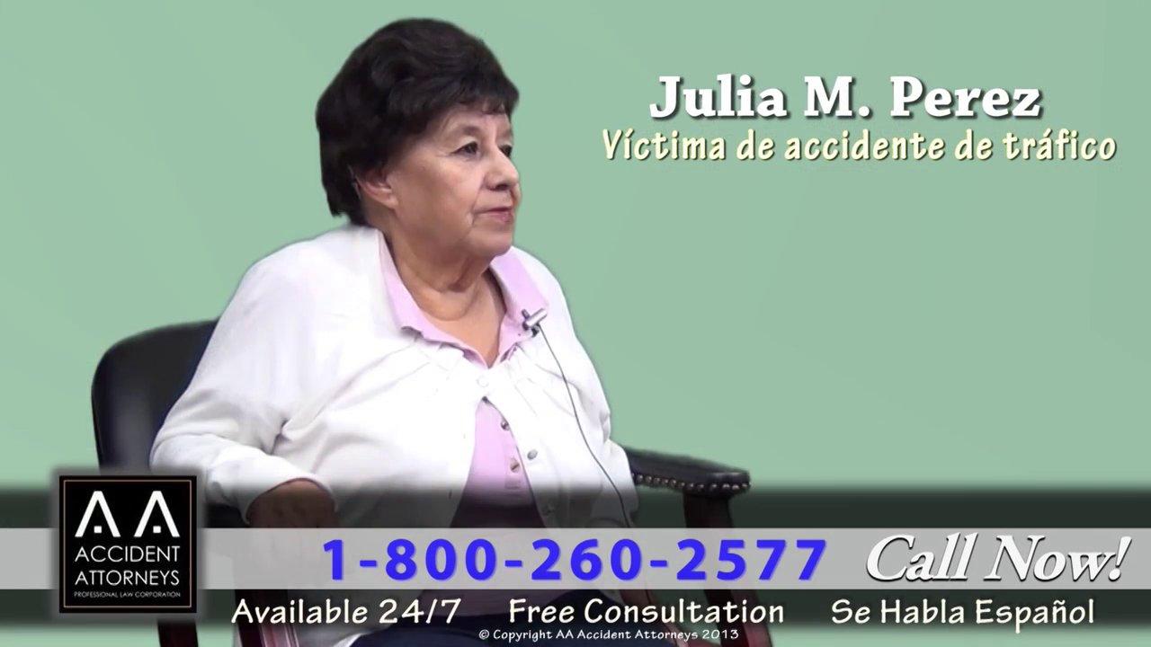Video thumbnail for vimeo video Áreas de Práctica | AA Accident Attorneys