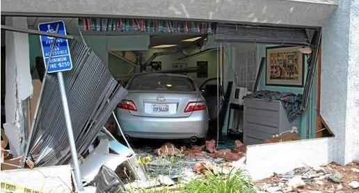 Elderly Driver Slams Into Office Building Hurting One