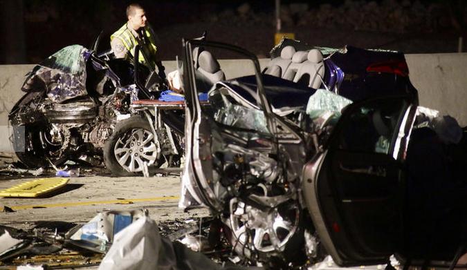 Three Dead In Wrong-Way Crash