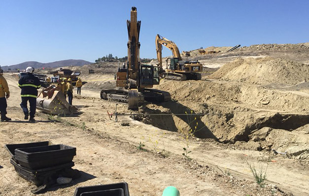 Worker Buried, Killed in Construction Site Accident at Glenn Ranch Road and Viejo Ridge Drive