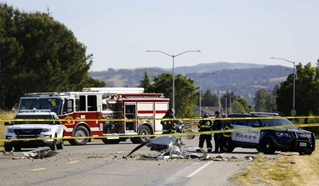 2 Killed in a Small Plane Crash near Petaluma Airport