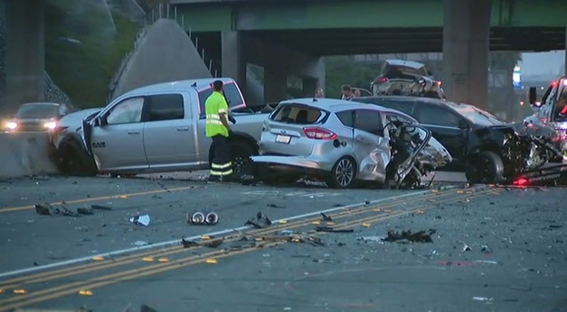 Irvine, CA - Drunk Driver Causes Pileup that Kills Woman, Injures 9