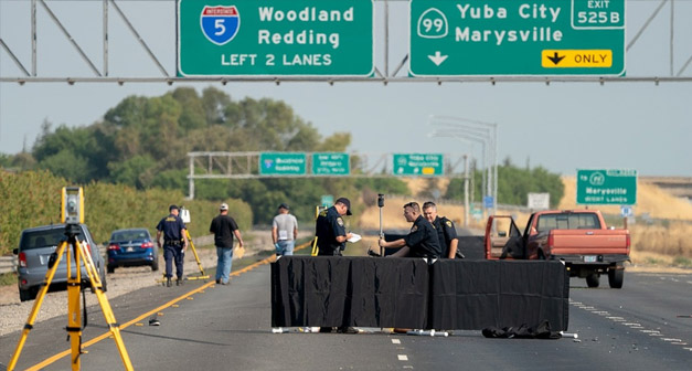 Sacramento Ca August 11 2018 Authorities Have Identified 2 Men Who Were Killed Following A Deadly Road Rage Fight On California Interstate 5 Freeway In