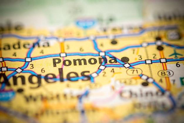 Map of Pomona